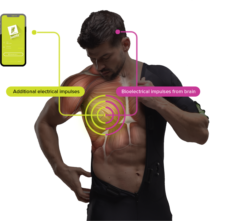 How Justfit™ EMS  technology works